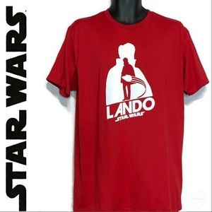 NWT Star Wars: Solo - Lando Calrissian Red Tee Lrg